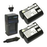 Wasabi Power Nikon EN-EL15 Accu en Lader Kit - thumbnail 1