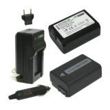 Wasabi Power Sony NP-FW50 Accu en Lader Kit - thumbnail 1