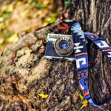 iMo Legende Blauw Neopreen Camera Strap - thumbnail 2