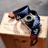 iMo Legende Blauw Neopreen Camera Strap - thumbnail 3