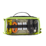 Tenba Cable Duo 4 Cable Pouch Camouflage/Lime - thumbnail 2