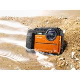 Panasonic Lumix DC-FT7 compact camera Oranje - thumbnail 3