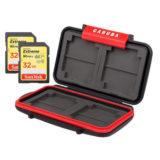 SanDisk 32GB SDHC Extreme UHS-I U3 90MB/s V30 geheugenkaart - 2 stuks + MCC-1 Cardcase - thumbnail 1