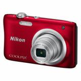 Nikon Coolpix A100 compact camera Rood - thumbnail 4
