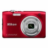 Nikon Coolpix A100 compact camera Rood - thumbnail 7