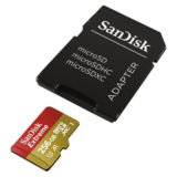 SanDisk 256GB Micro SDXC Extreme U3 V30 A1 100MB/s Geheugenkaart + adapter - thumbnail 3