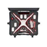 HPRC 2710 koffer voor DJI Phantom 4 Zwart - thumbnail 3