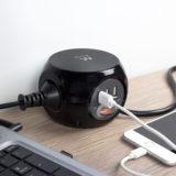 Ewent EW3938 Power Block met 3-poorts USB-lader 1.5m - thumbnail 5