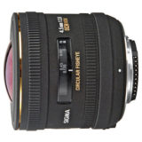 Sigma 4.5mm f/2.8 EX DC HSM Fisheye Canon objectief - Occasion - thumbnail 1