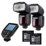 Godox Speedlite V860II Nikon X-PRO Duo kit - thumbnail 1