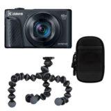 Canon Powershot SX740 HS compact camera Zwart Travel Kit - thumbnail 1