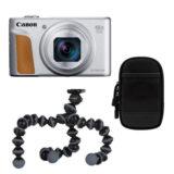 Canon Powershot SX740 HS compact camera Zilver Travel Kit - thumbnail 1