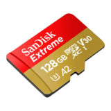 SanDisk 128GB Micro SDXC Extreme U3 V30 A2 160MB/s geheugenkaart - thumbnail 3