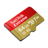 SanDisk 64GB Micro SDXC Extreme U3 V30 A2 160MB/s geheugenkaart - thumbnail 2