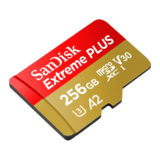 SanDisk 256GB Micro SDXC Extreme U3 V30 A2 160MB/s geheugenkaart - thumbnail 2