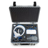 B&W Copter Case Type 6000 voor Mavic Fly More Combo + Goggles - Grijs  - thumbnail 2