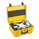 B&W Copter Case Type 6000 voor DJI Phantom 4 - Geel - thumbnail 3