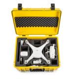 B&W Copter Case Type 6000 voor DJI Phantom 4 - Geel - thumbnail 2