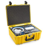 B&W Copter Case Type 6000 voor Mavic Fly More Combo + Goggles - Geel - thumbnail 2