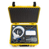 B&W Copter Case Type 6000 voor Mavic Fly More Combo + Goggles - Geel - thumbnail 3
