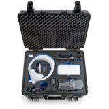 B&W Copter Case Type 6000 voor Mavic Fly More Combo + Goggles - Zwart - thumbnail 2