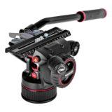 Manfrotto Nitrotech N12 + CF Twin Leg Tripod MS 100/75mm - thumbnail 3
