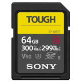 Sony 64GB SDXC Pro Tough UHS-II V90 300MB/s geheugenkaart