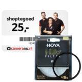 Gratis Hoya HDX UV-filter 77mm + Cadeaubon t.w.v. 25 euro t.w.v. 135,-