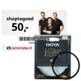 Hoya HDX UV-filter 82mm + Cadeaubon t.w.v. 50 euro