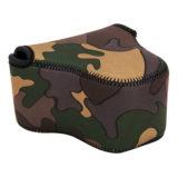 JJC OC-C2YG Neoprene Mirrorless Camera Pouch Camouflage - thumbnail 1