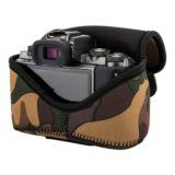 JJC OC-C2YG Neoprene Mirrorless Camera Pouch Camouflage - thumbnail 7