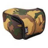 JJC OC-F2YG Neoprene Mirrorless Camera Pouch Camouflage - thumbnail 2