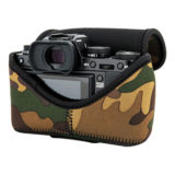 JJC OC-F2YG Neoprene Mirrorless Camera Pouch Camouflage - thumbnail 7