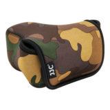 JJC OC-S2YG Neoprene Mirrorless Camera Pouch Camouflage Bruin - thumbnail 2