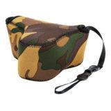 JJC OC-S2YG Neoprene Mirrorless Camera Pouch Camouflage Bruin - thumbnail 3