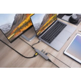 Hyper 6-in-1 USB-C hub with 4K HDMI Space Gray - thumbnail 2