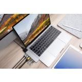 Hyper Net hub for USB-C Macbook Pro / Air Silver - thumbnail 2
