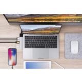 Hyper Net hub for USB-C Macbook Pro / Air Silver - thumbnail 3