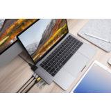 Hyper Net hub for USB-C Macbook Pro Space Gray - thumbnail 2