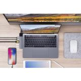 Hyper Net hub for USB-C Macbook Pro Space Gray - thumbnail 3