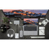 Hyper Ultimate USB-C hub Space Gray - thumbnail 3