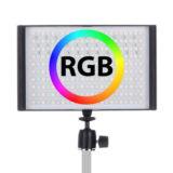 Falcon Eyes RGB LED Lamp Set T8 incl. Accu - thumbnail 1