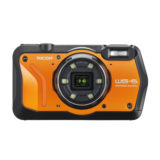 Ricoh WG-6 compact camera Oranje