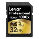 Lexar SDHC Pro 1000x 32GB 150MB/s UHS-2 SD-kaart