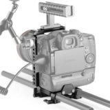 SmallRig 2024 Half-Cage voor Panasonic Lumix GH5 met Batterij Grip - thumbnail 5