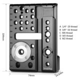 SmallRig 1997 Left Side Plate voor Red Scarlet-W/Weapon/Epic-W - thumbnail 4