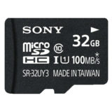 Sony 32GB Micro SDHC UHS-I U1 Class 10 geheugenkaart + adapter