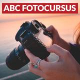 Leer fotograferen met de ABC fotocursus - Amsterdam - startdatum 3 november 2020