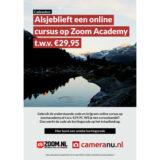 Zoom Academy Voucher t.w.v. 29.95 euro