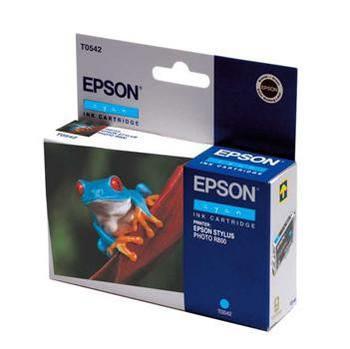 Epson Inktpatroon T0542 - Cyan/Cyaan (R800/R1800) (origineel)
